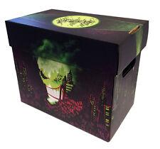 2 - THE JOKER Art Comic Book Storage Box - City of Smiles Holds 125-140 Comics