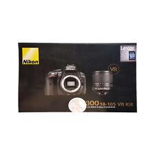 Nikon D5300 fotocamera DSLR + 18-55mm Kit Lenti ED VR Nero-Regno Unito Modello