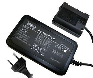 Netzteil fr Nikon D610 D750 D800 D800E D810A 1V1 Z6 Z7 EH-5 EP-5B Kupler EN-EL15