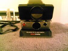 Polaroid SX-70 Instant Film Land Camera Sonar OneStep Black