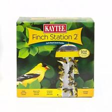 Kaytee Patio Garden 2 socket Finch Station Dome Reservoir Refillable Seed Feeder