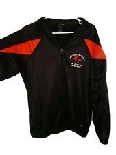 Holloway jacket Tae Kwon Do jacket sz M medium black orange olympic full zip