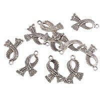 Scarf Beads Tibetan Silver Charms Pendant Fit DIY Bracelet 10pcs 20*10mm