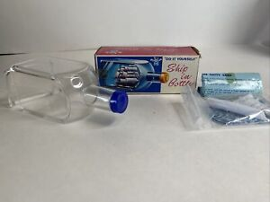 """1969 Vintage Ship in a Bottle Kit """"The Cutty Sark""""  By Handy Dandy  RARE"""