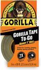 Gorilla 3044401 Tape Handy Roll, 1 Pack, Black 1 Pack
