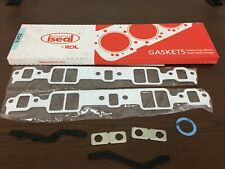 Small Block Chevy Intake Manifold Gasket set Fits Stock Port 1968-1987 made USA