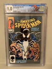 Amazing Spider-Man #255 CGC 9.0 1st Appearance Black Fox Limited NY Label