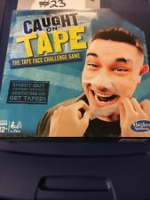 Hasbro Caught on Tape Face Challenge Game Fun Active Adult Teen Party Group New