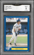 LAPD DARE EARLY CARD Mike Piazza Graded Mint 9 Rookie Los Angeles Dodgers