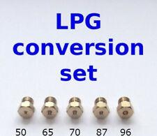5 Burner Gas Hob LPG Conversion Kit Jets Nozzles Propane Injectors New!!