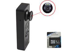 8GB Button pinhole Camera Spy Hidden Camcorder Mini DVR Surveille Video Recorder
