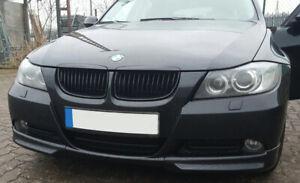 For BMW 3-Series E90 E91 05-08 Front Bumper Spoiler Lip  Valance Splitter Flaps