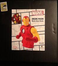 SDCC 2013 Iron Man Classic Resin Bust Bank MINT