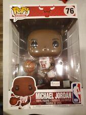 NBA: Bulls Michael Jordan White Jersey Pop Vinyl FunKo Foot Locker 10in Retro XI