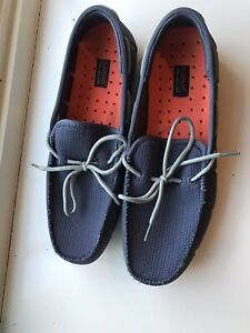 EU-43  Uk-9 Swims Men's Lace Loafer Size Colour Navy//White  RRP £110