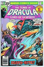 TOMB OF DRACULA #47 (MARVEL COMICS 1976) VF+/NM (BLADE APPEARANCE!) GENE COLAN!