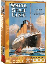 Titanic White Star Line 1000 piece jigsaw puzzle 680mm x 490mm (pz)