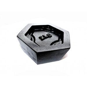 2Kg Iron Hexagonal Calibration Test Weight