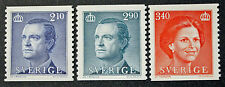 Timbre SUÈDE / Stamp SWEDEN Yvert et Tellier n°1351 à 1353 n** (cyn9)