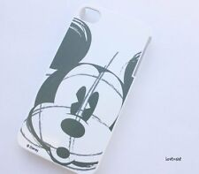iPhone 4 4G 4S - HARD PROTECTOR CASE COVER PLATE Disney Mickey Mouse Sketch Grey