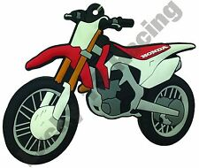 Honda CRF 450 R rubber key ring motor bike cycle gift keyring chain