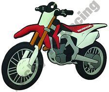 HONDA CRF 450 R in gomma PORTACHIAVI Motore Bici Ciclo regalo Portachiavi Catena