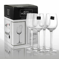 Royal Worcester Kwarx Crystal Glassware Tableware Sets Gift Boxed Drinks Glass
