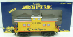 American Flyer 6-49040 S Scale Chessie System Animated Caboose NIB