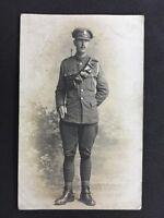 Vintage Postcard: Military RP #M227: Royal Field Artillery: Staff Sergeant