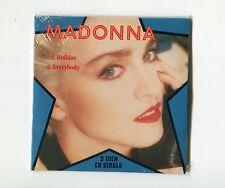 Madonna SEALED 3-INCH-cd-single HOLIDAY Everybody Sire © 1989 EU-2-tr 921 140 2
