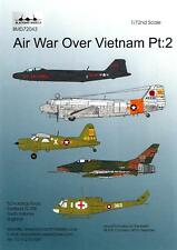 Blackbird Decals 1/72 AIR WAR OVER VIETNAM Part 2
