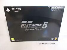 GRAN TURISMO 5 SIGNATURE LIMITED COLLECTOR'S EDITION SONY PS3 - GT5 VERSIONE ITA