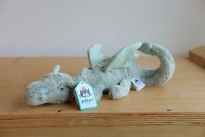 Jellycat Sage Dragon Little Plush 26cm