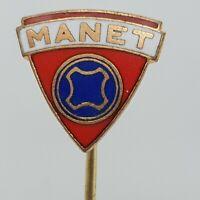 Vintage Manet Motorcycle Stick pin badge 1.5cm Czechoslovakian 1950s