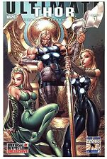 ULTIMATE THOR #1 - Long Beach Comicon Ed, J Scott Campbell Cover (Raw NM)
