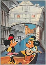 51099 - DISNEY - ITALY -  POSTAL HISTORY:  Nice VINTAGE POSTCARD - 1962