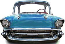 SC-88 Bel Air Car Blue Stand In ca.136 x 96cm Pappaufsteller Figur Oldtimer