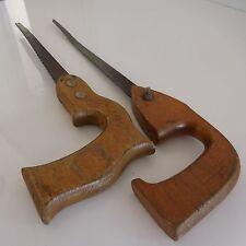 2 scies à bois vintage