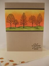 Stampin Up handmade card - Lovely as a Tree