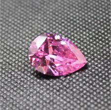 Pink Sapphire 18.65Ct 13x18MM Pear CUT AAAAA Loose Gemstone