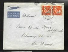 DUTCH EAST INDIES, 1948 COVER TO HOLLAND, 25c RATE.