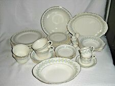 40 pc set W.S George Radisson Apollo China Pattern #32722 1941 Dinnerware Dishes
