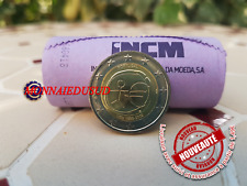 2 Euro Commémorative Portugal 2009 - 10 Ans de l'Euro EMU UNC NEUVE
