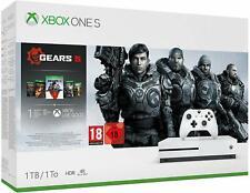 Xbox One S 1TB Console & Gears 5 Bundle +PROJECT CARS 2 & TEKKEN 7 GAMES