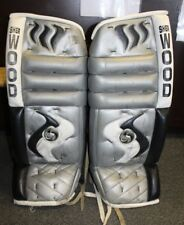 "SHERWOOD Hockey Goalie Leg Pads 30"" GUC"