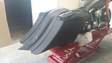 Stretched Saddlebags, fender, stock Lids/ latches Harley Davidson 97-08 flh