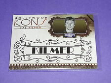 2008 Celebrity Cuts VAL KILMER Hollywood Icons Gold/25 Batman TOP GUN The Doors