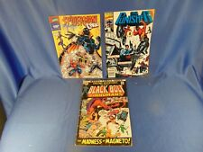 Comic book Spiderman Storm Cage Punisher Black Bolt Captain Marvel Thor Elfquest