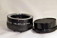 2X CX Teleplus Telemore tele converter lens MC4 Teleconverter Contax Yashica C/Y