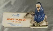 Original Vintage Hummel Goebel Advertising Sign / Plaque Janet Robson Figurines